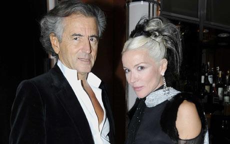 Bernard Henri Levy y Daphne Guiness