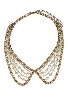 collar babero de Top Shop