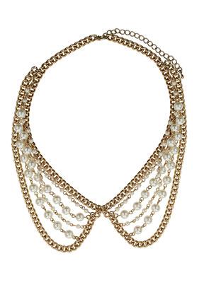 collar babero de Top Shop