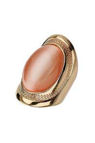 anillo con piedra de Top Shop