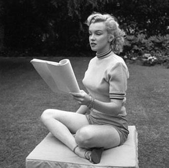 Imagen de Marilyn mostrada en la Getty Images Gallery