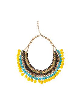 gargantilla de colores de Zara