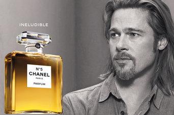 Brad Pitt imagen de  Chanel-Nº5