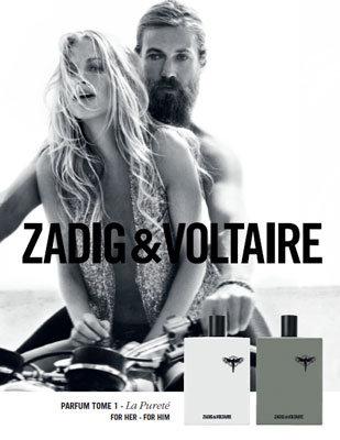 Chris del Moro & Poppy Delevigne para  Zadig & Voltaire