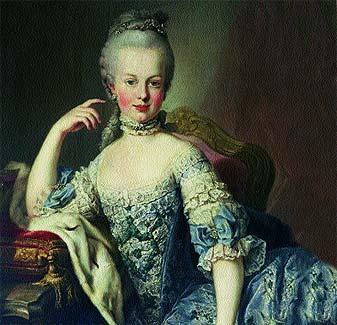 Retrato de Maria Antonieta de Martin van Meytens de www.elmundo.es