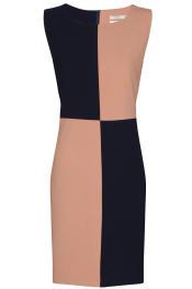 vestido con formas geometricas de Kling