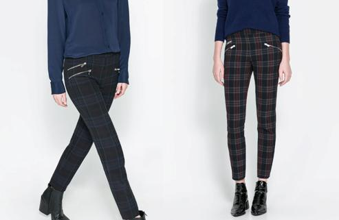 pantalon cremalleras