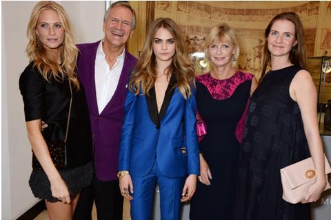Poppy, Charles, Cara, Pandora y Chloe Delavigne