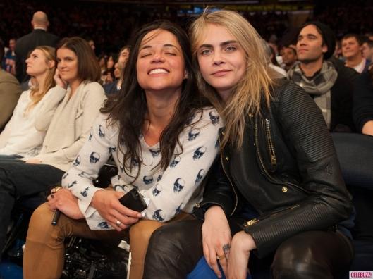 Cara Delevingne y Michelle Rodriguez