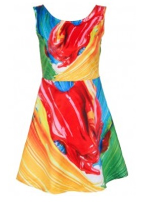 Vestido Arty:  Romwe 35'55 euros